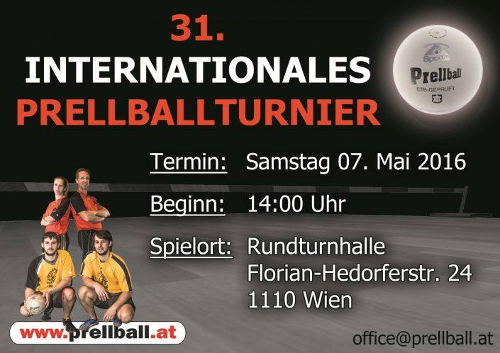 31 Int.Prellballturnier Wien